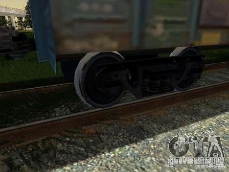 Крытый вагон для GTA San Andreas вид справа