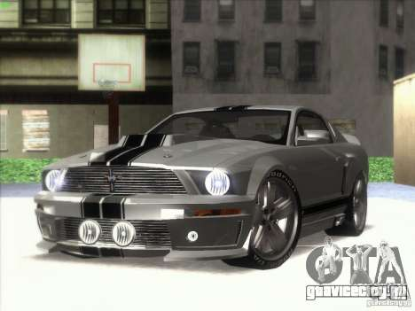 Ford Mustang Eleanor Prototype для GTA San Andreas вид сзади слева