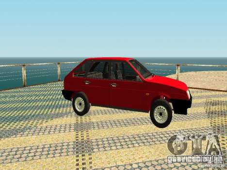 ВАЗ 2109 v2 для GTA San Andreas вид сзади слева