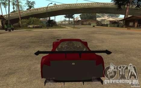 Seat Cupra GT для GTA San Andreas вид сзади слева