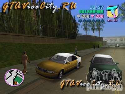 Audi S8 Tuning для GTA Vice City