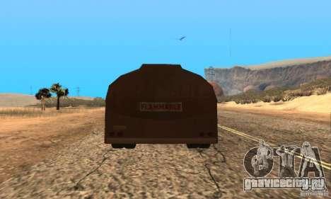 Прицеп к Duel Peterbilt для GTA San Andreas вид слева