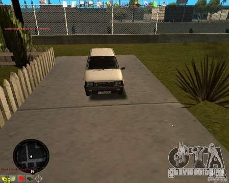 ОКА ВАЗ 11113 для GTA San Andreas вид слева