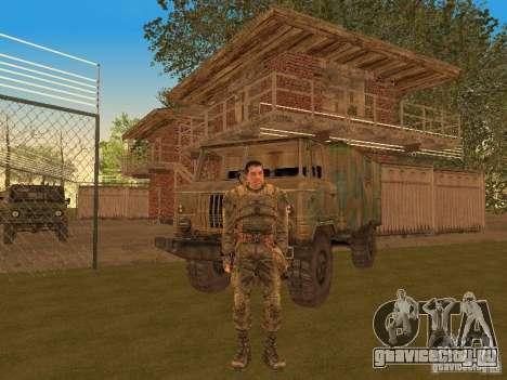Дегтярев из Сталкера для GTA San Andreas третий скриншот