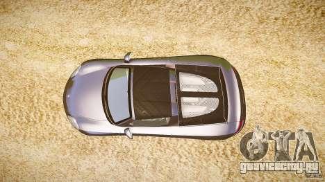 Porsche Carrera GT v.2.5 для GTA 4 вид справа