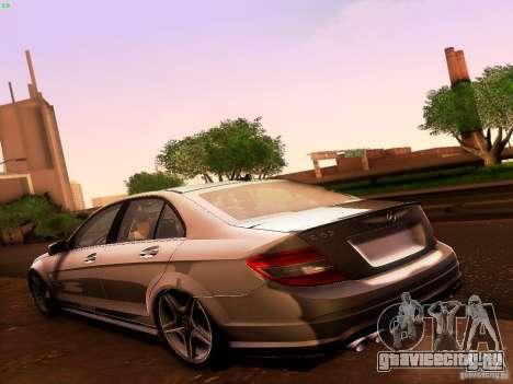 Mercedes-Benz C36 AMG для GTA San Andreas вид сбоку