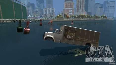 Benson boat для GTA 4 вид слева
