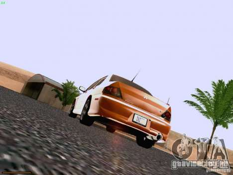 Mitsubishi Lancer Evolution VIII для GTA San Andreas вид справа