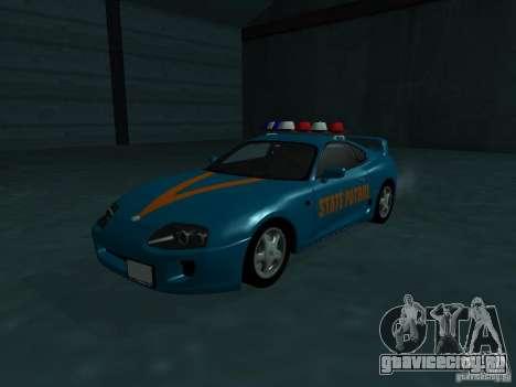 Toyota Supra California State Patrol для GTA San Andreas