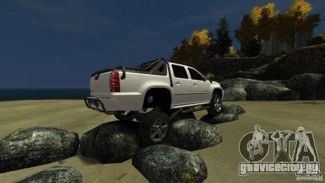 Chevrolet Avalanche 4x4 Truck для GTA 4 вид сбоку