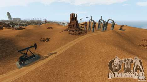 Red Dead Desert 2012 для GTA 4 восьмой скриншот