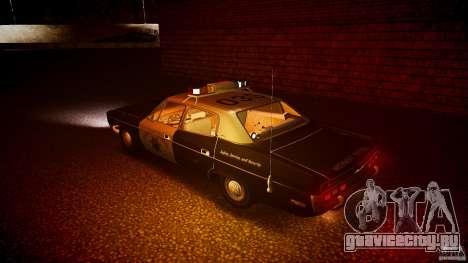 AMC Matador CHP [ELS] для GTA 4 колёса