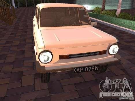 ЗАЗ 968М Лимузин для GTA San Andreas вид слева
