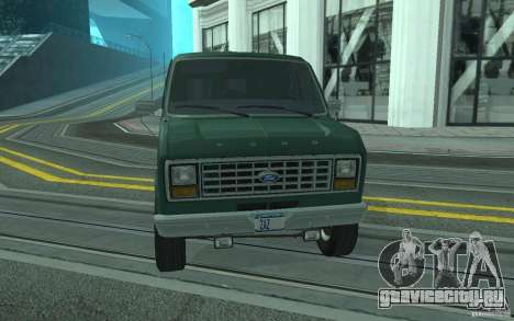 Ford E-150 Short Version v3 для GTA San Andreas вид сбоку