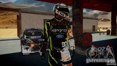 Ken Block Gymkhana 5 Clothes (Unofficial DC) для GTA 4 второй скриншот
