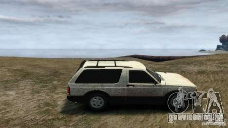GMC Typhoon 1993 v1.0 для GTA 4 вид слева