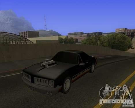 HD Diablo для GTA San Andreas вид сзади