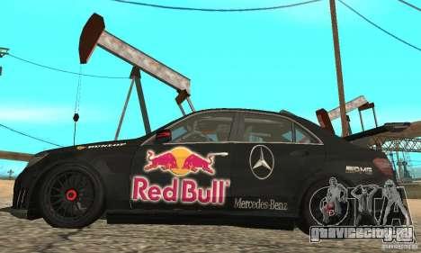 Mercedes-Benz E63 AMG DTM 2011 для GTA San Andreas вид сзади