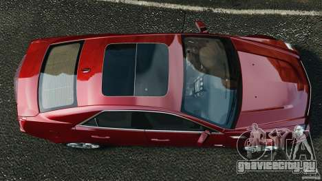 Cadillac CTS-V 2009 для GTA 4 вид справа