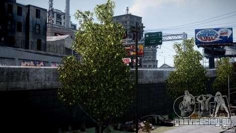 Realistic trees 1.2 для GTA 4 второй скриншот