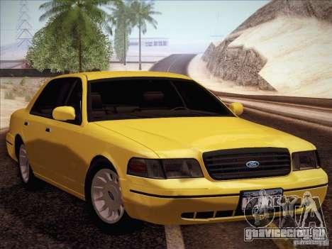 Ford Crown Victoria Interceptor для GTA San Andreas
