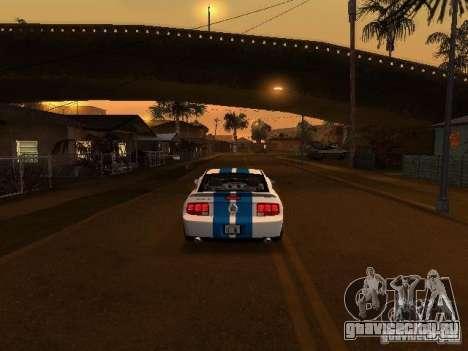 Ford Mustang GT для GTA San Andreas вид сбоку