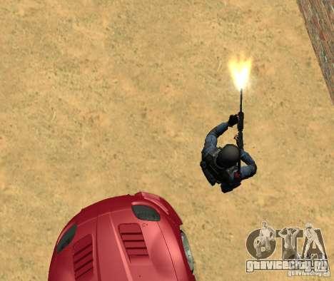 M4 для GTA San Andreas четвёртый скриншот