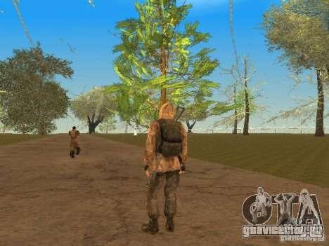 Скин Шрама из Сталкера для GTA San Andreas шестой скриншот