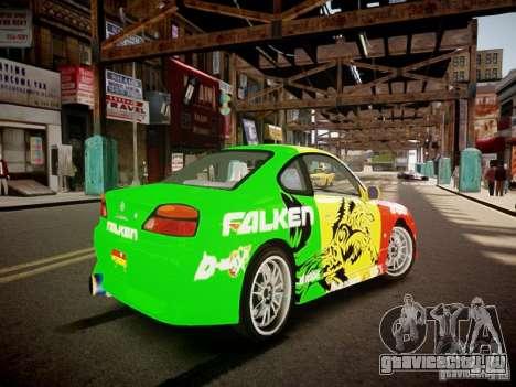 Nissan Silvia S15 Boso Drift Formula D M-Design для GTA 4 вид справа