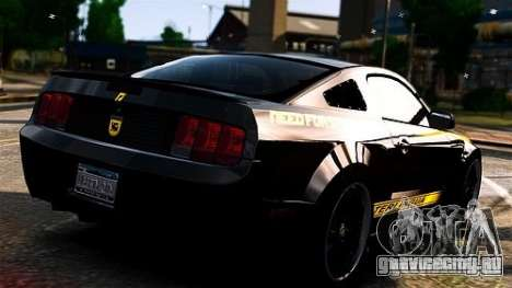 Ford Mustang (Shelby Terlingua) v1.0 для GTA 4 вид слева