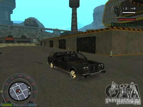 Новый Greenwood для GTA San Andreas вид слева