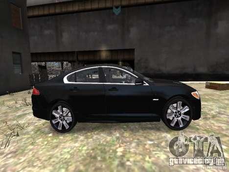 Jaguar XFR для GTA 4 вид изнутри
