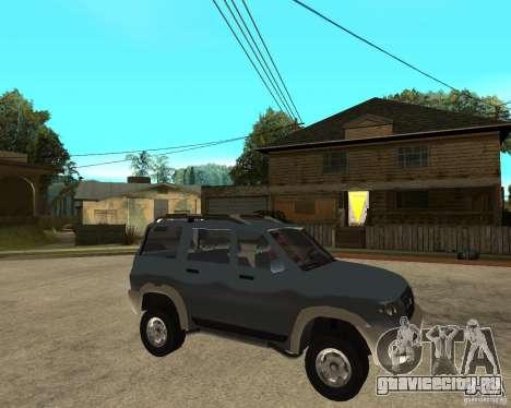УАЗ Patriot 4х4 для GTA San Andreas вид справа