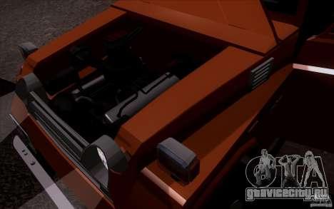 Toyota Land Cruiser FJ55 для GTA San Andreas вид справа