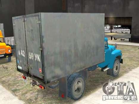 ЗиЛ 431410-130 Final для GTA 4 вид сзади слева