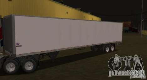 Попуприцеп к Prostar для GTA San Andreas вид слева