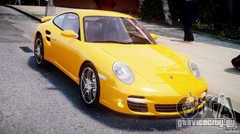 Porsche 911 Turbo V3.5 для GTA 4 вид справа