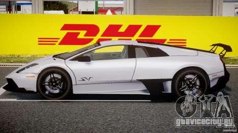 Lamborghini Murcielago LP670-4 SuperVeloce для GTA 4 вид сзади слева