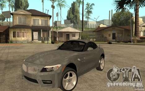 BMW Z4 sdrive35is 2011 для GTA San Andreas