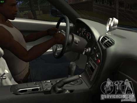 Mazda RX 7 Veil Side для GTA San Andreas вид изнутри