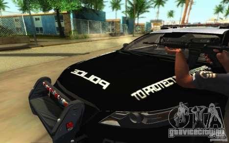 Ford Taurus 2011 LAPD Police для GTA San Andreas салон