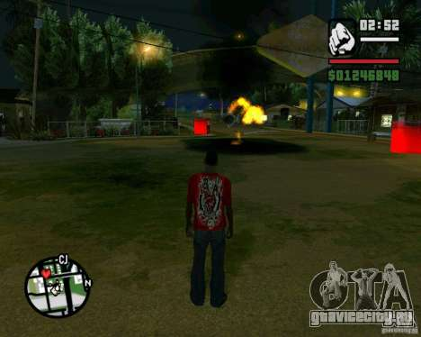 Wrecking ball для GTA San Andreas пятый скриншот