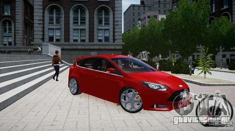 Ford Focus ST 2012 для GTA 4 вид справа