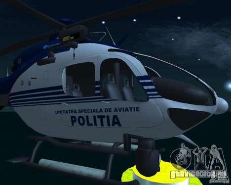 EC-135 Gendarmerie Police для GTA San Andreas вид справа