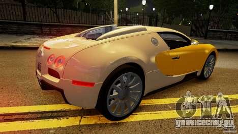 Bugatti Veyron 16.4 v1.0 wheel 2 для GTA 4 вид сверху