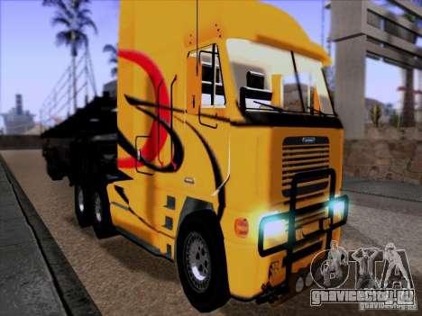 Freightliner Argosy Skin 2 для GTA San Andreas вид слева