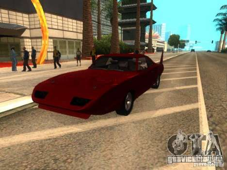 Dodge Charger Daytona Fast & Furious 6 для GTA San Andreas вид справа