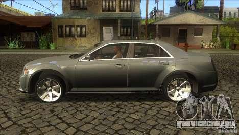 Chrysler 300 SRT-8 2011 V1.0 для GTA San Andreas вид слева