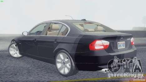 BMW 330i e90 для GTA San Andreas вид слева