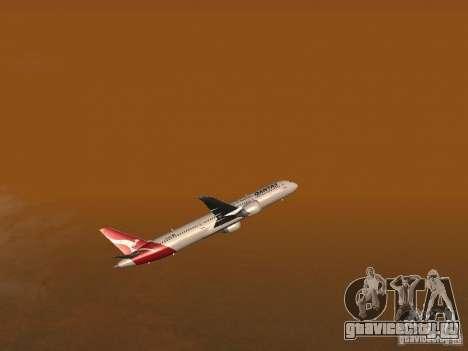 Boeing 787 Dreamliner Qantas для GTA San Andreas вид сбоку
